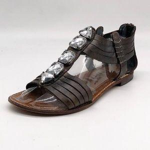 Sam Edelman Galina Rhinestone Gladiator Sandals